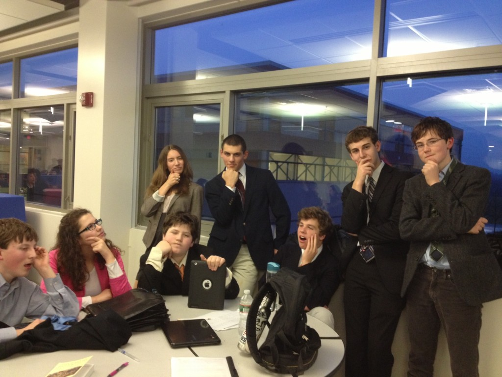 Waring School's Debate Society Continues the Tradition